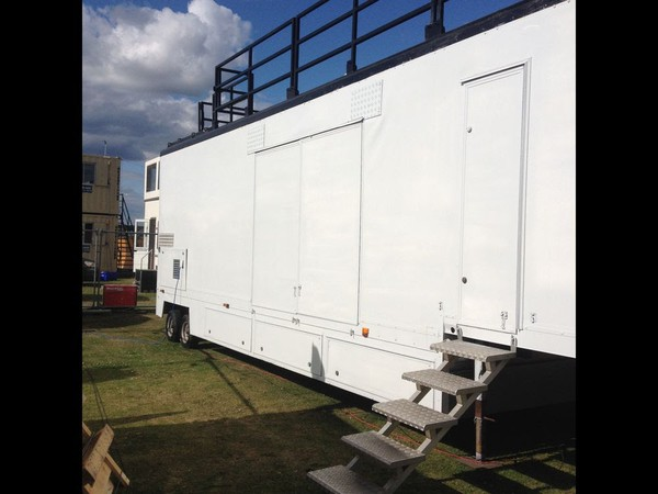 Selling Exhibition Stage Trailer Rig