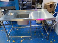Stainless Steel Sink With Void And Sink Bowl - London