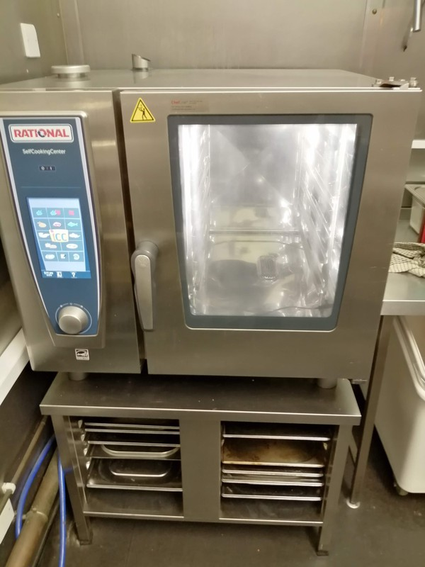 Rational Oven SCC 61E - Self Cooking Centre 6 Grid Combi Plus UG2 Stand - Electric - London