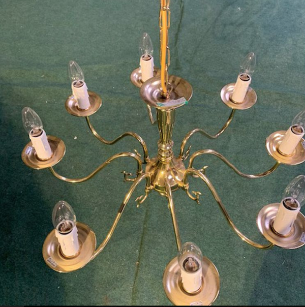 Secondhand chandelier