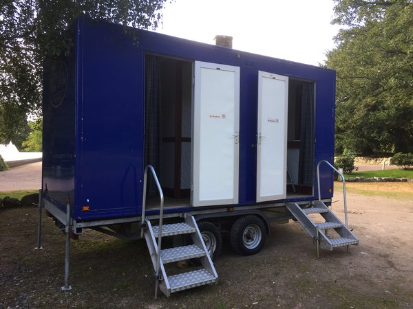 2 + 1 toilet trailer for sale - Scotland