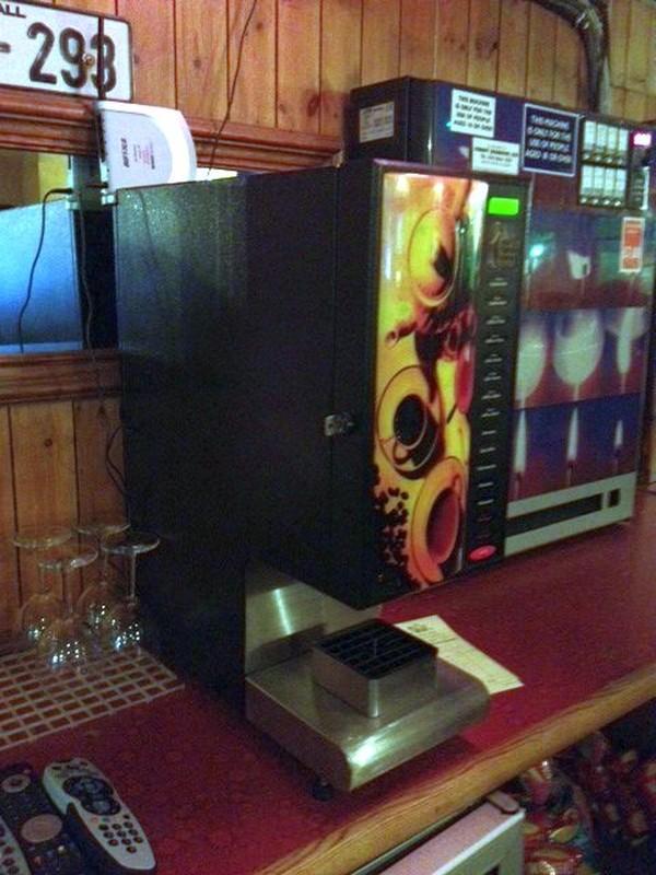 automatic drinks machine