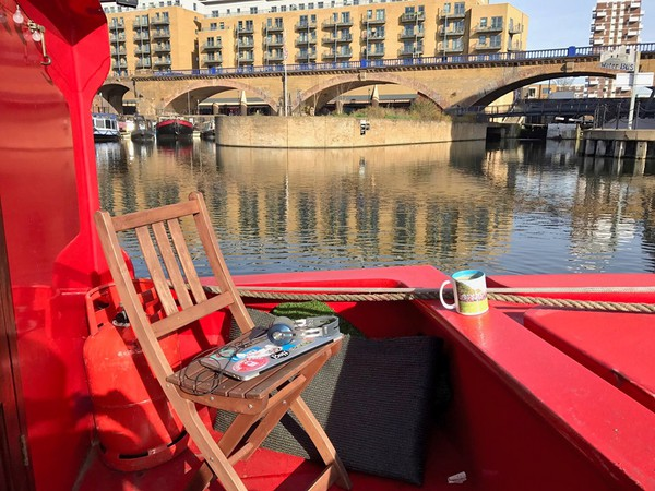 Buy Red Canal Boat