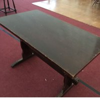10x Square Wooden Traditional Brown Pub Tables -  Walcott, Norfolk