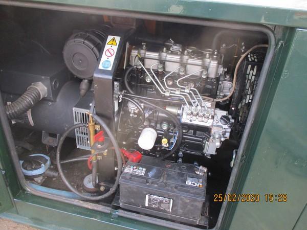 20kVA Broadcrown Rental Spec Super Silenced Generator for sale