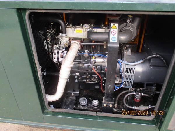 Buy Used 20kVA Broadcrown Rental Spec Super Silenced Generator