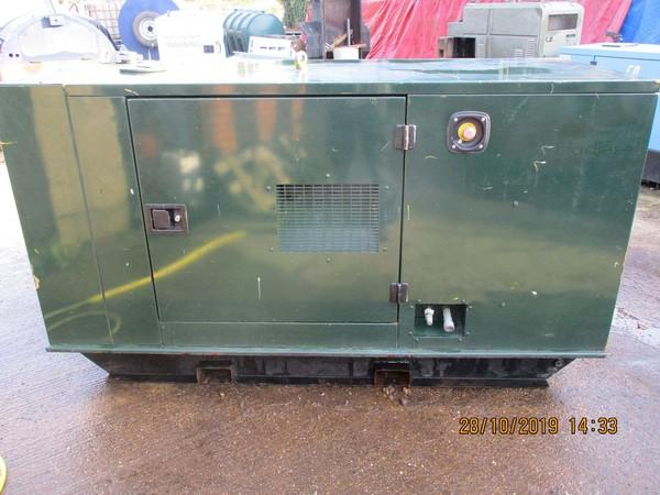22kVA Perkins / Meccalte New Engine And Alternator Refurbished,