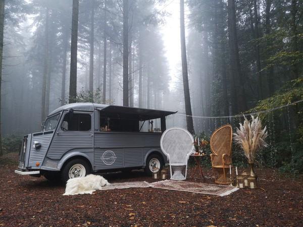 Kent HY Van mobile bar van