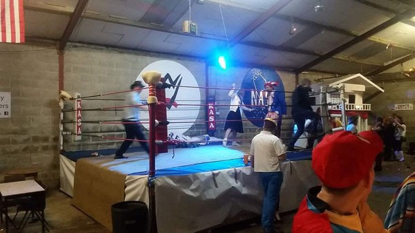 Second Hand 14 Foot Boxing Ring