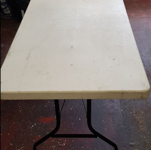 6x Trestle Tables For Sale