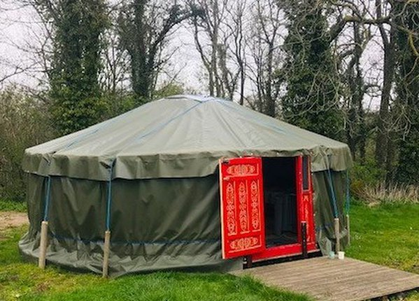 5x Mongolian Yurts 6m Diameter Fully Furnished