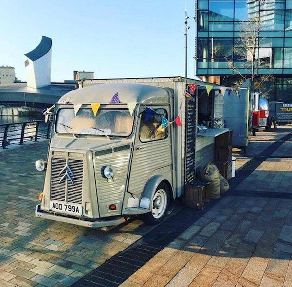Citroen HY Van Fantastic Retro Van Used As Mobile Coffee Shop Business