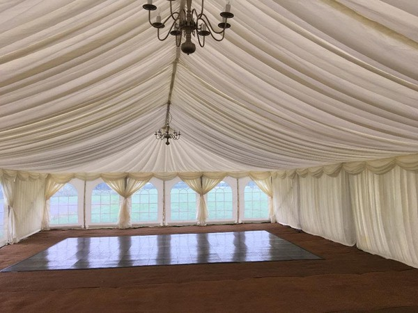 9m x 27m Marquee With Lining And Matting - Barnstaple, Devon