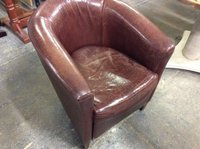 Tan Leather Tub Chairs For Sale Shropshire