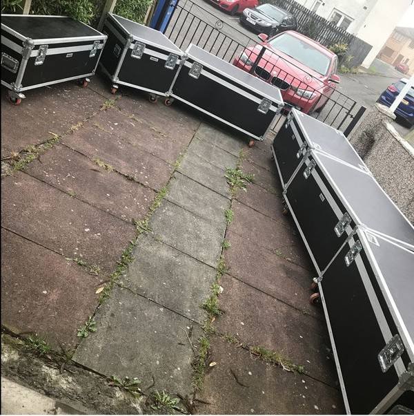 Second Hand Swan Flight Cases For Sale