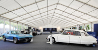 Tectonics Framed Marquee 15m x 37.5m on 3m legs complete - Oxfordshire