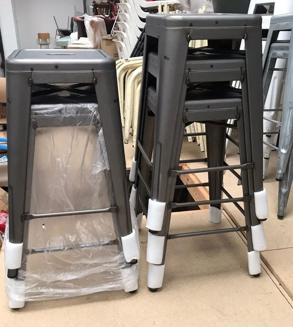 Buy Second Hand Tolix Style Stools
