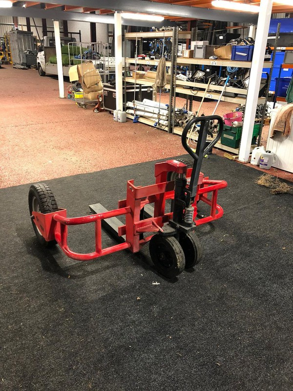 Buy Used Off-Road rough terrain pallet truck