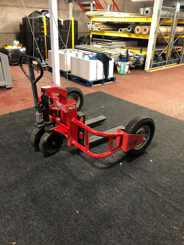 Off-Road rough terrain pallet truck