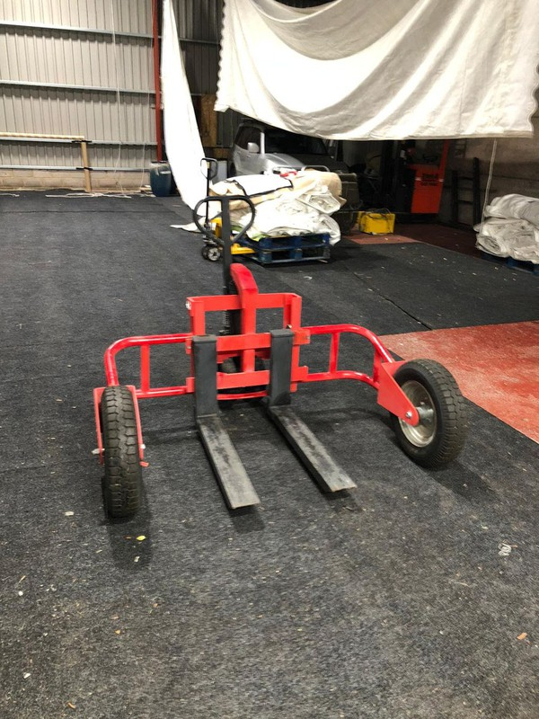 Used Off-Road rough terrain pallet truck
