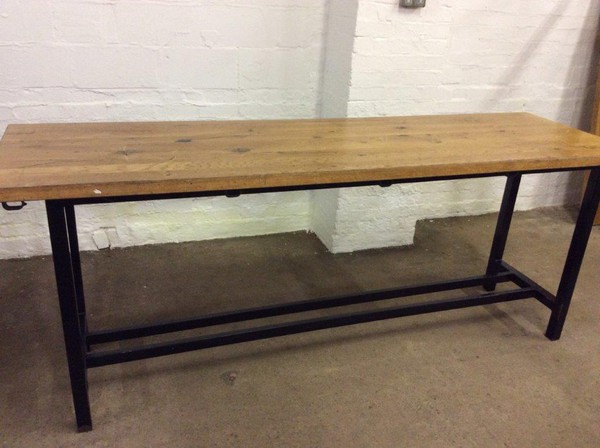 Large Poseur Table (CODE T 3218P)