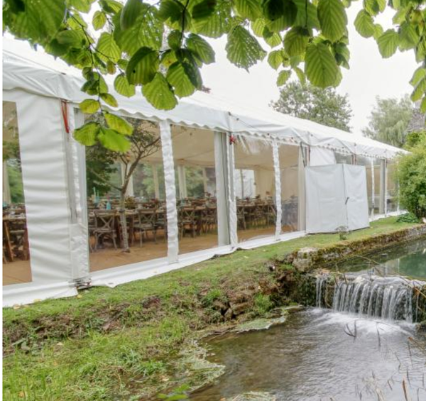 12m x 12m Clearspan Marquee