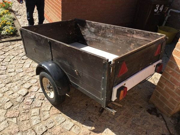 Second Hand car trailer