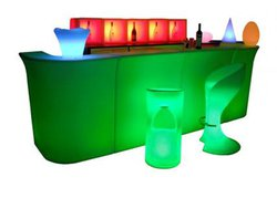 LED Furniture Only Used Twice For Special Event - Leicestershire