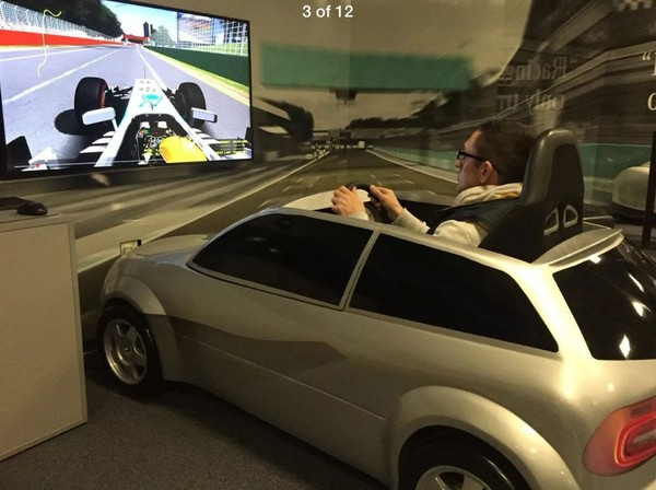 Scale Car Based PC Simulator For Sale