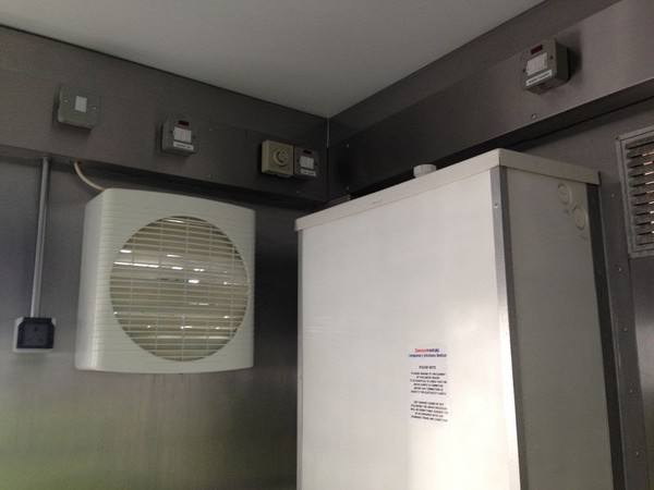 Second Hand Mobile Kitchen Facility Unit