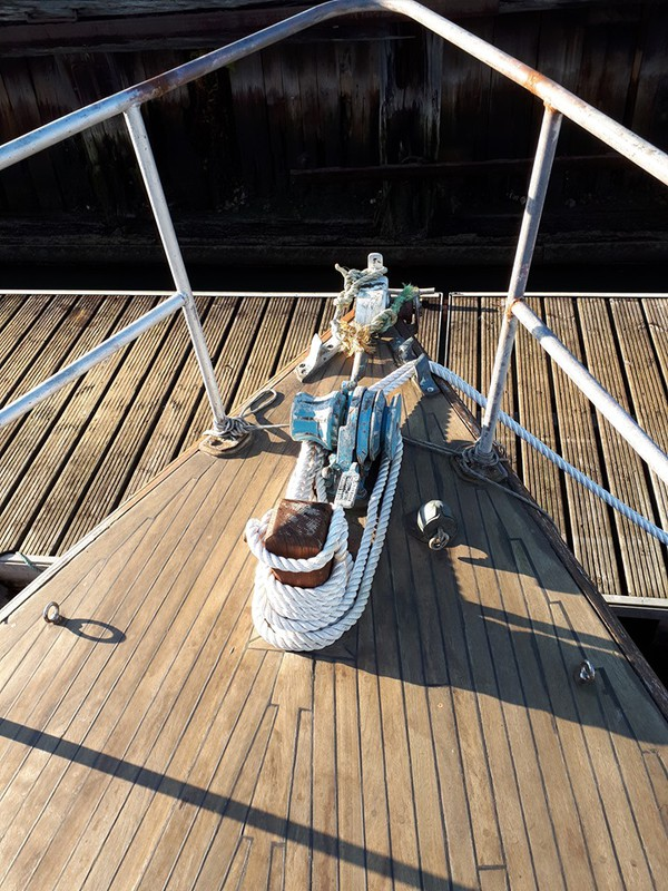 34ft Wooden Motor Sailor