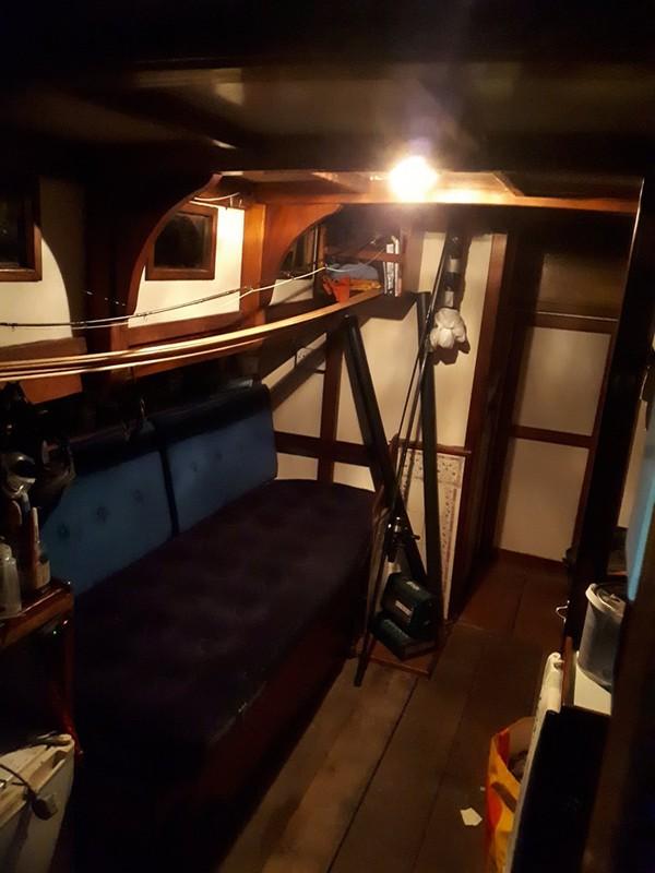 34ft Wooden Motor Boat