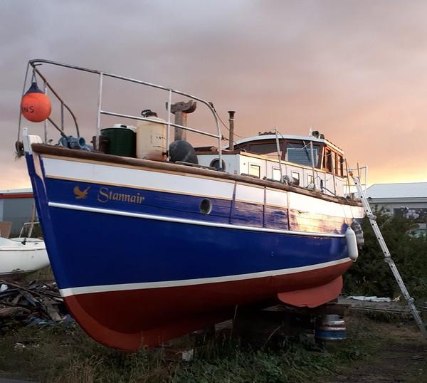 34ft Wooden Motor Sailor Built 1922 Ideal Liveaboard Boat - Grimsby, Lincolnshire