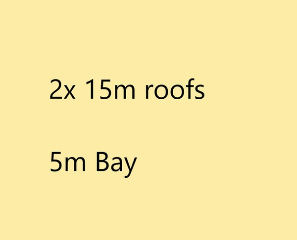 15m roofs for sale