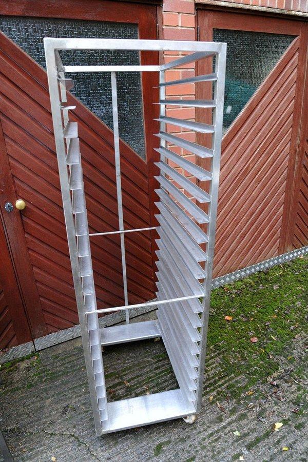Stainless Steel Tray Rack - Near Bewdley, Shropshire.