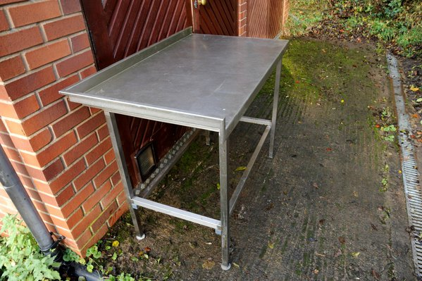 1.2m Stainless Steel Prep Table