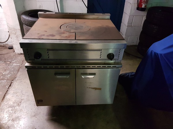 Parry USHO Solid Top Natural Gas Cooker