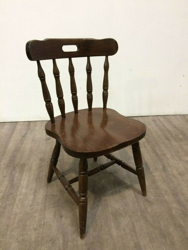 Solid Traditional Pub Chairs For Sale
