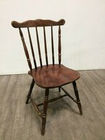 Traditional Spindleback Wooden Chairs