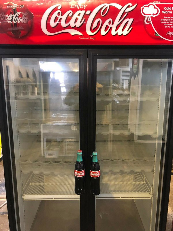 Coca Cola Branded Upright Display Chiller - Bedford, Bedfordshire