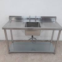 Brand New Diaminox Stainless Steel Single Bowl Sink