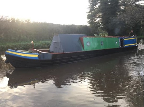 Buy 50ft Black Country Trad Narrowboat Live-Aboard