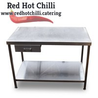 Steel table