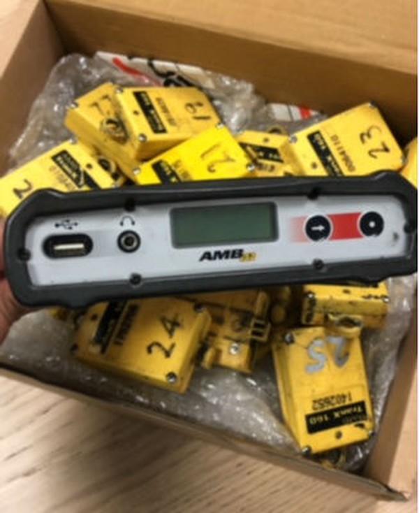 AMB Kart timing system