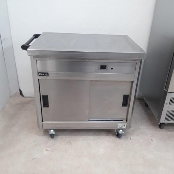 Used Lincat P6P2 Hot Cupboard Trolley