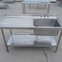Used Stainless Steel Single Bowl Sink