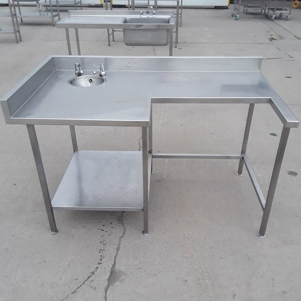 Used Stainless Steel Table Hand Sink