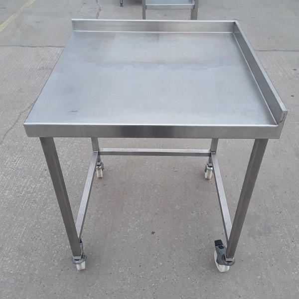 Used Stainless Steel Table (10185) - Bridgwater, Somerset