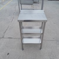 53cm Used Stainless Steel Table