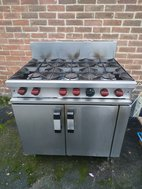 Second Hand Moorwood Vulcan MasterChef 6 Burner Gas Cooker